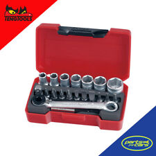 T1420 - Teng Tools - 20 Piece - 1/4 Inch Drive - Bit Socket Set
