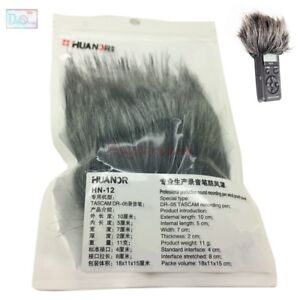Outdoor MIC Furry Cover Windscreen Windshield For TASCAM DR-05 Microphone