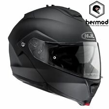 Cascos modulares HJC color principal negro para conductores