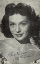 Beautiful Actress Lilli Palmer - Exhibit Arcade Card