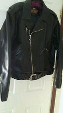 Vintage Harley Davidson® Men's Crusader Black Distressed Leather Jacket Sz XXL