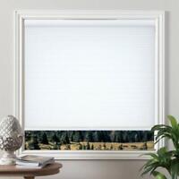 "Grandekor Cordless Blinds Cellular Fabric Light Filtering Shades - White 31x64"""