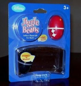 New Disney Store Exclusive Power Rangers Red and Black 2 Jiggle Beans SET Sealed