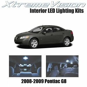 XtremeVision LED for Pontiac G8 2008-2009 (4 Pieces) Cool White Premium Interior