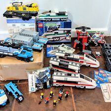LEGO City Train Lot 7987 10157 10219 7939 10128 Incomplete Partial With Extras