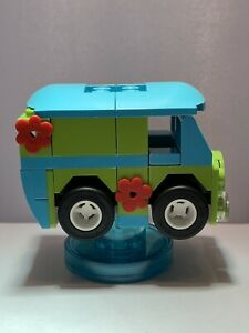 LEGO Dimensions Mystery Machine From Set 71206 (Scooby-Doo) Car & Tag Only Used