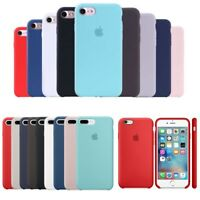 Original Silicone Luxury Ultra-Thin Case for Apple iPhone X XS XR 8 Plus 7 6 6S
