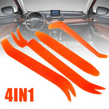 Car Radio Stereo Door Clip Trim Dash Panel Install Removal Pry Tool Plastic Kit