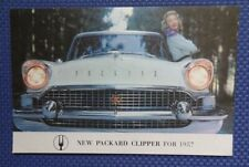 1957 PACKARD CLIPPER Automobile Small Color Sales Brochure - MINT CONDITION!