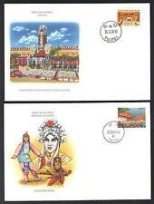 CHINA 1980 90 COLLECTION OF 11 FDC's ALL DIFFERENT WITH CACHETS SEE SCANS