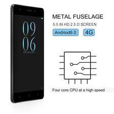 "2018 New Android6.0 Mobile Phones Quad Core Dual SIM 5.0"" Smartphone Unlocked UK"