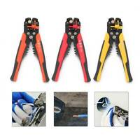 Self Adjustable Automatic Cable Wire Multicolor Crimping Tool Stripper Plier