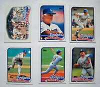 1989 Topps Los Angeles Dodgers Baseball Card Team Set (30 Cards)