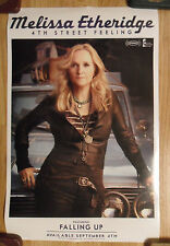 Music Poster Promo Melissa Etheridge ~ 4th Street Feeling ~ DS Double Sided
