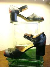 Maripé per Görtz Pumps Damenschuh Sandalette 70er Gr 37 True Vintage 70s Sommer
