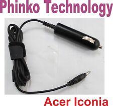 12V 1.5A 18W DC Car Charger For Acer Iconia A500 A501 A100 A101 A200 Tab Tablet