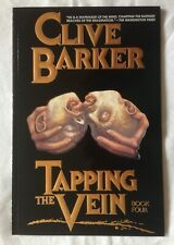 TAPPING THE VEIN Book 4 - CLIVE BARKER - ECLIPSE GRAPHIC NOVEL 1990 32 pages EX+