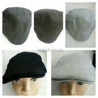 New Tweed herringbone Gatsby Cap Mens Ladies Flat Baker Boy Hat Newsboy One Size