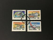 (JC) Asia Pacific Communications Decade 1987 - Complete 4v used stamp #87