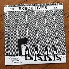 """Executives - Jet Set 7"""" EP kbd punk San Diego injections vinyl 45 power pop 1980"""