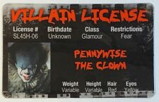 Pennywise The Clown - It - Novelty Villain License - Drivers