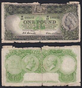 Australia 1 pound Commonwealth of Australia 1961(65)  MB/F  A-07