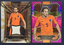 2017/18 Panini Select Soccer Daley Blind 2 Card Lot /125 Sparks Jersey