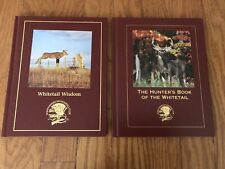 North American Hunting Club 00004000  Hunter's Book Of The Whitetail & Whitetail Wisdom.