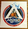 Official NASA APOLLO 50 Anniversary Back to the Moon On to Mars Sticker Decal 5""