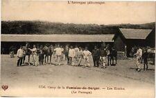 CPA  Camp de la Fontaine-du-Berger - Les Ecuries (Le Pansage)   (222021)