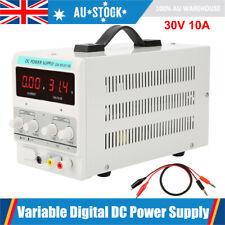 30v 10a Digital DC Power Supply Variable Precision Lab Adjustable Test Tool AU