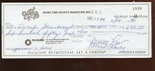 1990 Daryl Strawberry Signed / Endorsed Check Hologram