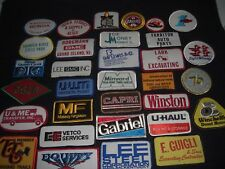 Vintage 1980's Company Advertising Patches Wholesale Lot of 32 Lot  #6