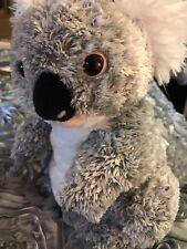 Minkplush.com KUALA BEAR PLUSH STUFFED ANIMAL TOY grey 11x8