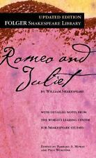 Folger Shakespeare Library: Romeo and Juliet by William Shakespeare (2004, Trade Paperback)