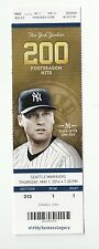 2014 NEW YORK YANKEES VS SEATTLE MARINERS TICKET STUB 5/1/14 DEREK JETER