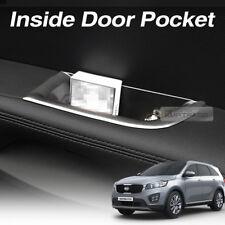 Interior Door Pocket Holder Box Black Trim 4EA for KIA 2015-2017 2019 Sorento UM