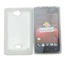 TPU Case Schutzhülle für Nokia Asha 503 in foggy transparent Etui Hülle Cover