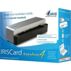 IRIS Card Anywhere 4 Pass-Through Scanner