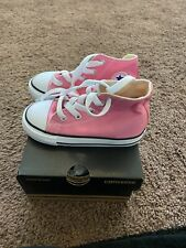 CONVERSE All Star Hi Top Pink ConverseShoes Toddlers Baby Infants Girl Sneaker 8