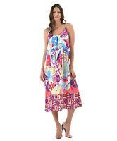 NEW Jams World Ariana Dress Trinity Hawaiian Print Sundress XL Made in USA