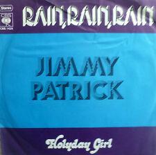 "7"" 1973 MINT-! JIMMY PATRICK Rain Rain (SUNG ENGLISH)"