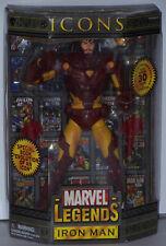 Marvel Legends Icons, Iron Man. Toy Biz 2006.