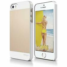 Elago S5 Outfit Aluminum Case for iPhone 5/5S - White/Gold