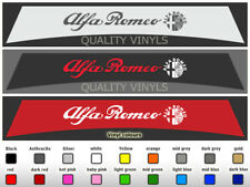 SU191 ALFA ROMEO MITO GIULIA GIULIETTA CAR SUNSTRIP LOGO VINYL DECAL STICKERS