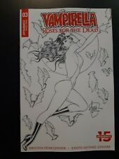 VAMPIRELLA ROSES FOR THE DEAD #3 1:10 Billy Tucci Variant Dynamite Comic Book NM