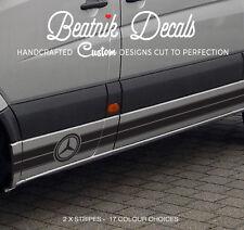 Mercedes Sprinter / LWB Logo Stripes Decals Stickers Emblem Van Vinyl