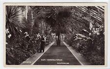 GLEN CONSERVATORIES, DUNFERMLINE: Fife postcard (C14544)
