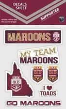 QLD Maroons State of Origin iTag UV Sticker Sheet