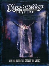 RHAPSODY OF FIRE - Visions From the Enchanted Lands  (2DVD 2007) NEW SEALED